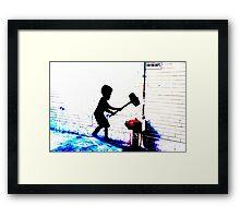 banksy Framed Print