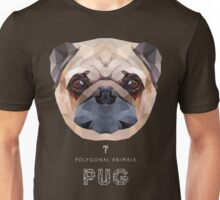 POLYGONAL PUG DOG Unisex T-Shirt