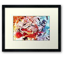 Fate/kaleid liner Prisma Illya Miyu Framed Print