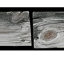 Old wood boards Photographic Print