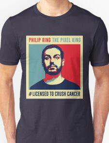 Phil Ring Pixel King Unisex T-Shirt