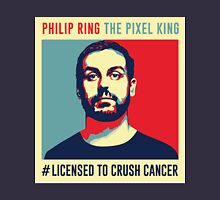 Phil Ring Pixel King Unisex T-Shirt