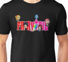 Chibi Characters Fairy Tail, Anime Unisex T-Shirt