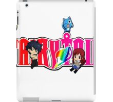 Chibi Characters Fairy Tail, Anime iPad Case/Skin