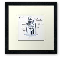 king´s castle Framed Print