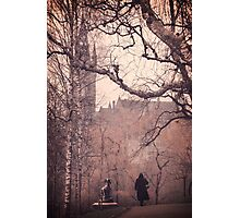 The Woman in Black Photographic Print