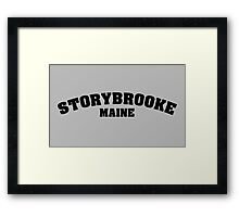 Once Upon a Time - Storybooke, Maine Framed Print