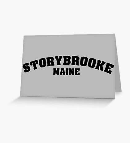 Once Upon a Time - Storybooke, Maine Greeting Card