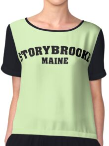 Once Upon a Time - Storybooke, Maine Chiffon Top