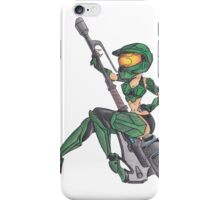 Mistress Chief Pin UP iPhone Case/Skin