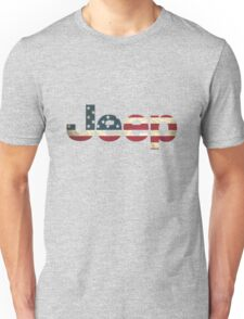 Jeep American Flag Unisex T-Shirt
