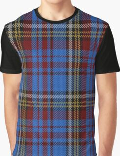 00430 Anderson Westwood Blue Tartan  Graphic T-Shirt