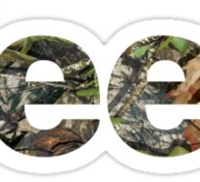 Jeep Mossy Oak Sticker