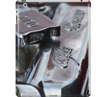 1967 Alfa Romeo GTV Engine iPad Case/Skin