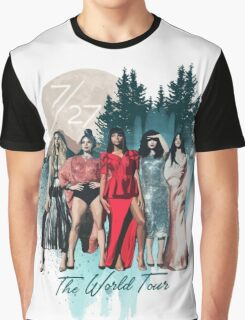 Fifth Harmony - 7/27 (World Tour) Graphic T-Shirt