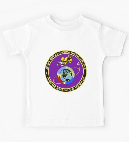 Joint Space Operations Center (JSpOC) Kids Tee