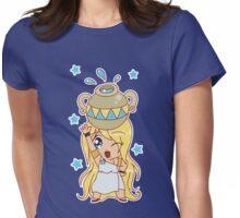 Aquarius Cutie Womens Fitted T-Shirt