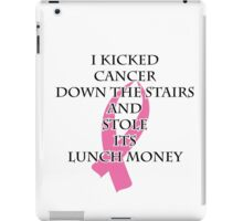 Breast Cancer Bully iPad Case/Skin