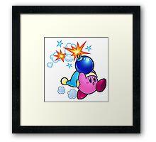 Bomber Kirby Framed Print