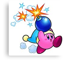 Bomber Kirby Canvas Print