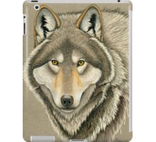 Grey Wolf Portrait iPad Case/Skin