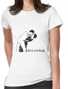 Chuck and Blair - I do Womens Fitted T-Shirt