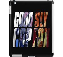 Good Cop, Sly Fox iPad Case/Skin