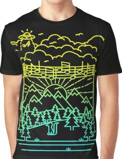 Mountain Notes Graphic T-Shirt