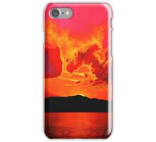 Earth Sunset Painting iPhone Case/Skin