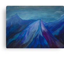 Blue mountain feels Canvas Print