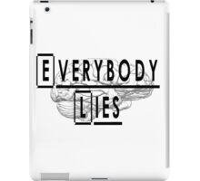 Dr. House quote iPad Case/Skin