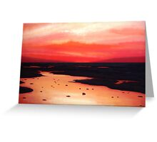 Earth Swamp Painting Greeting Card