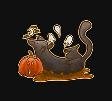 Playful Halloween Kitty Unisex T-Shirt