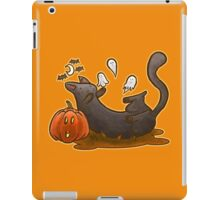 Playful Halloween Kitty iPad Case/Skin