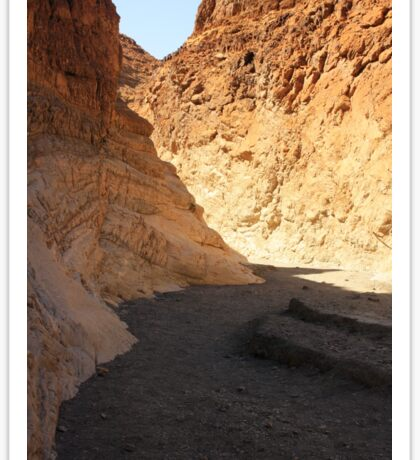 Death Valley Slot Canyon Sticker