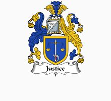 Justice Coat of Arms / Justice Family Crest Unisex T-Shirt
