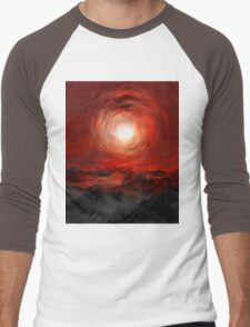 Tunnel through the sun Men's Baseball ¾ T-Shirt