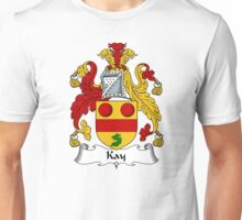 Kay Coat of Arms / Kay Family Crest Unisex T-Shirt