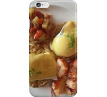 Lobster Eggs Benedict  iPhone Case/Skin