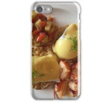 Lobster Eggs Benedict If you like, please purchase, try a cell phone cover FOODIE thanks iPhone Case/Skin