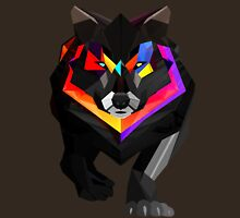Colored wolf Unisex T-Shirt