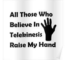 Telekinesis Poster