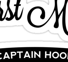Once Upon a Time - Captain Hook - First Mate Sticker
