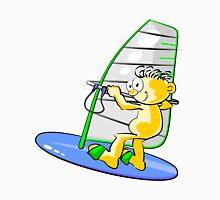 Cartoon windsurfer Unisex T-Shirt