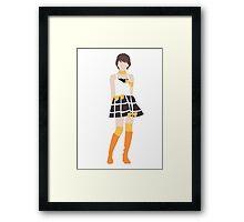 Haruka Kudo One Two Three Framed Print