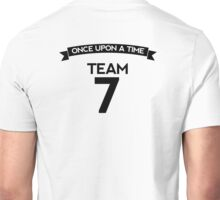 Once Upon a Time - Team 7 - Back Dark Unisex T-Shirt