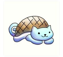 squirtle   kitty Art Print