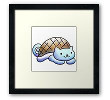 squirtle   kitty Framed Print