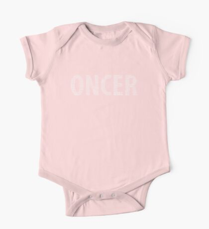 Once Upon a Time - Oncer - White One Piece - Short Sleeve