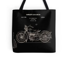 Harley Davidson Patent 1928 Tote Bag